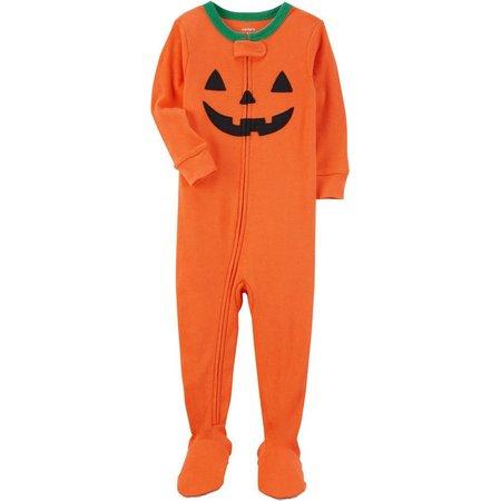 Carters Baby Unisex Halloween Pumpkin Sleep & Play