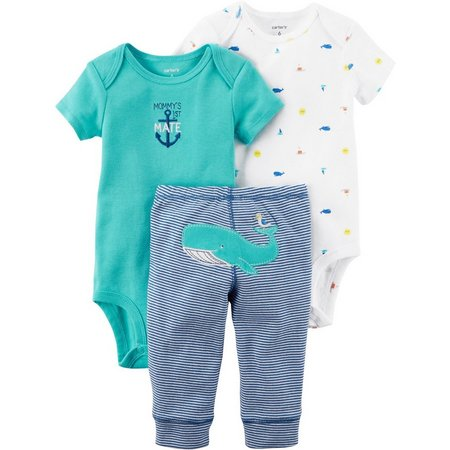 Carters Baby Boys 3-pc. Mommy's 1st Mate Layette