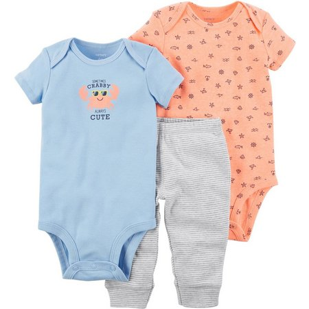 Carters Baby Boys 3-pc. Always Cute Layette Set