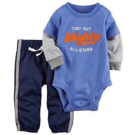 Carters Baby Boys 2-pc. All-Star Bodysuit Pant Set