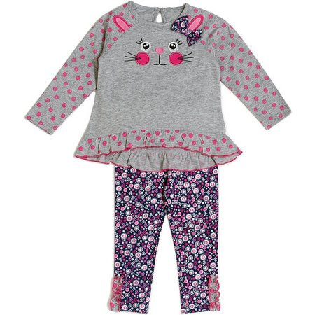 Cutie Pie Baby Baby Girls Bunny Tunic Pants