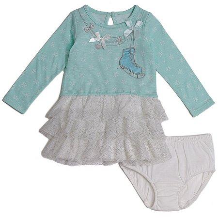 Cutie Pie Baby Baby Girls Ice Skate Dress