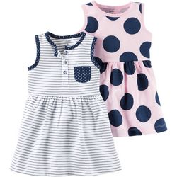 Carters Baby Girls 2-pk. Dresses