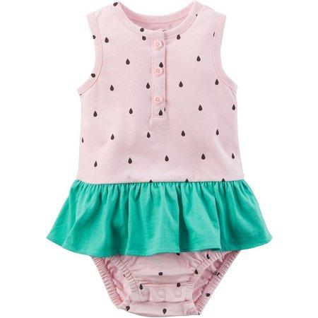 Carters Baby Girls Watermelon Sunsuit