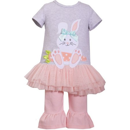 Bonnie Jean Baby Girls Bunny Rabbit Tutu Leggings