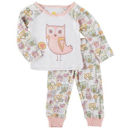 Sol Sleep Baby Girls Life's A Hoot Pajama