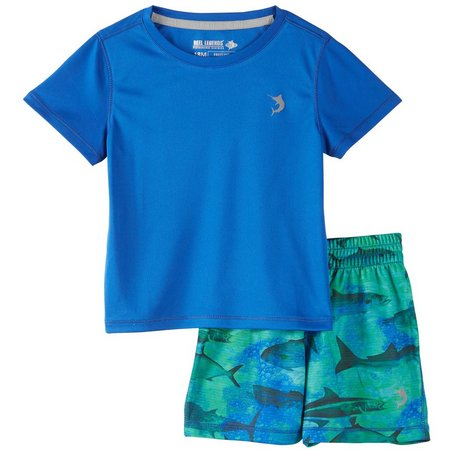 Reel Legends Baby Boys Freeline Game Shorts Set
