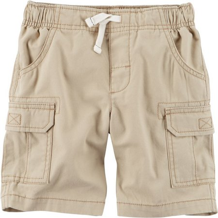 Carters Baby Boys Faux Drawstring Cargo Shorts