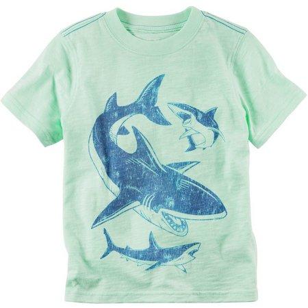 Carters Baby Boys Circling Sharks T-Shirt
