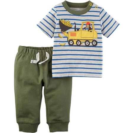 Carters Baby Boys Banana Loader Pants Set