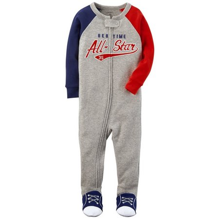 Carters Baby Boys Bedtime All-Star Sleep & Play