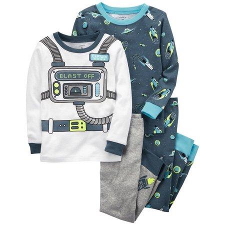 Carters Baby Boys 4-pc. Astronaut Pajama Set