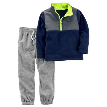 Carters Baby Boys Pullover Jogger Pants Set