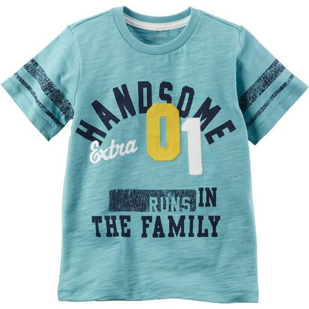 Carters Baby Boys Runs in the Family T-Shirt