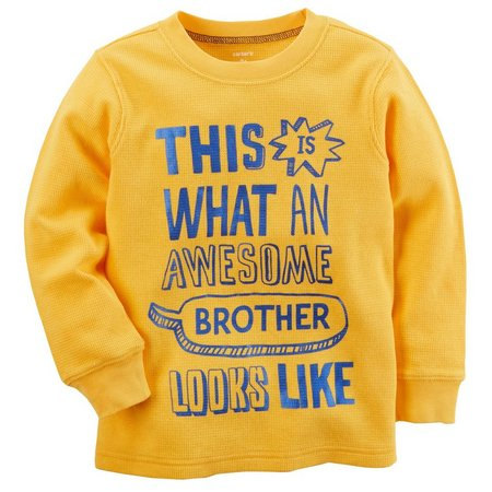 Carters Baby Boys Awesome Brother T-Shirt