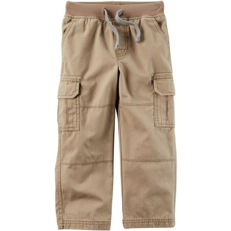 Carters Baby Boys Pull-On Drawstring Cargo Pants