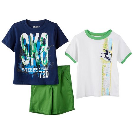 New! Boyz Wear Little Boys 3-pc. SK8 &