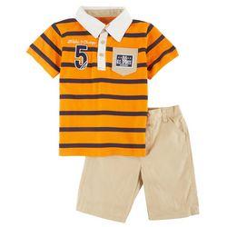 Boyz Wear Little Boys Champs Shorts Set
