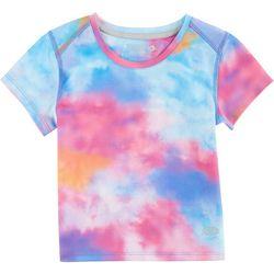Reel Legends Toddler Girls Freeline Sky T-Shirt