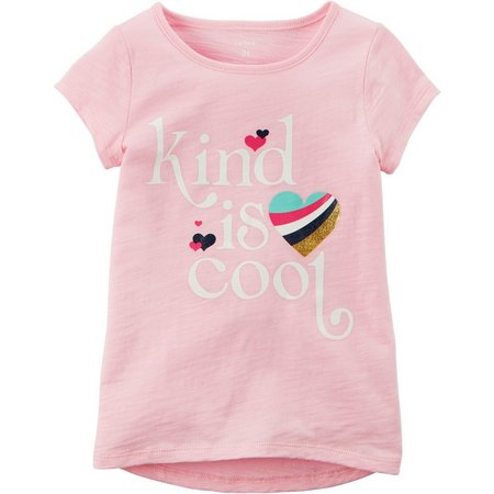 Carters Toddler Girls Kind Is Cool T-Shirt