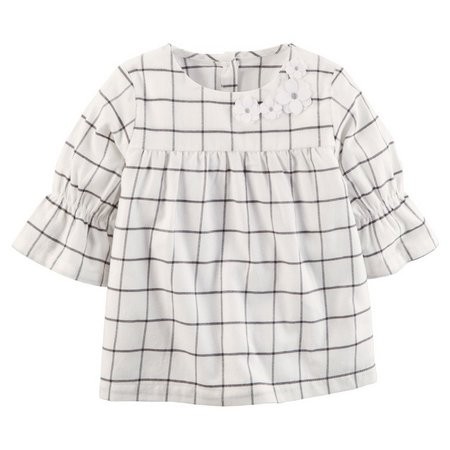 Carters Toddler Girls Flannel Tunic Top