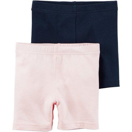 Carters Toddler Girls 2-pk. Playground Shorts