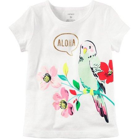 Carters Toddler Girls Aloha T-Shirt