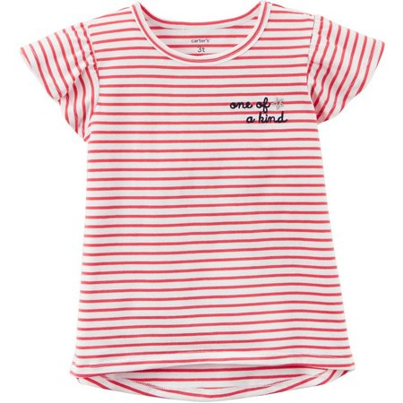 Carters Toddler Girls One Of A Kind Stripe
