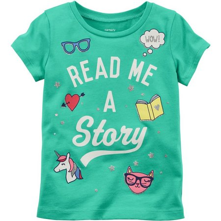 Carters Toddler Girls Read Me A Story T-Shirt