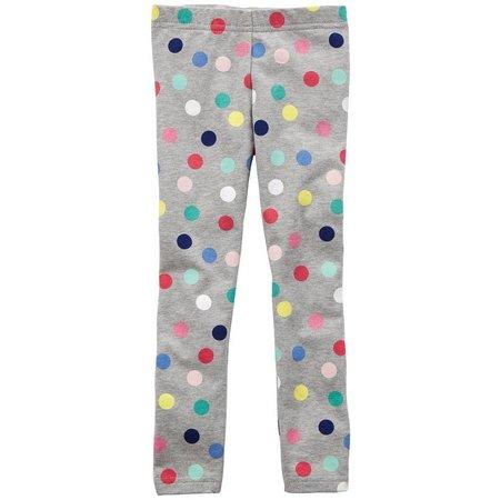 Carters Toddler Girls Polka Dot Print Leggings