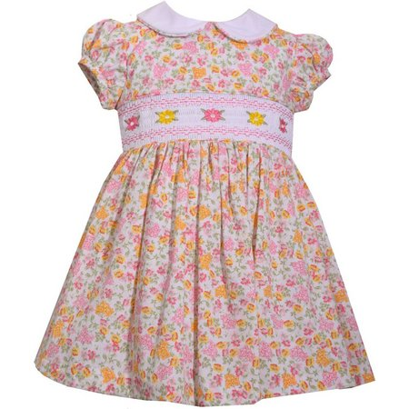 Bonnie Jean Toddler Girls Ditsy Floral Dress