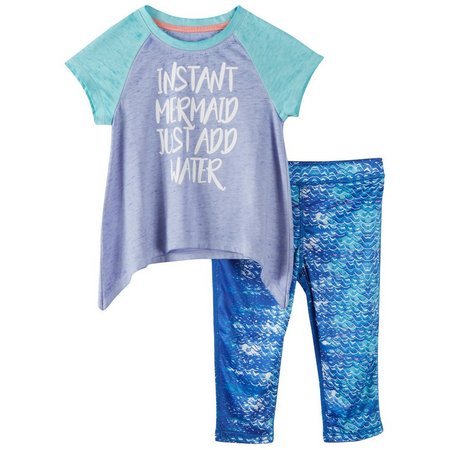Reel Legends Toddler Girls Reel-Tec Mermaids Set