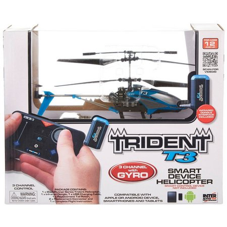 Interactive Toy Trident T3 RC Helicopter