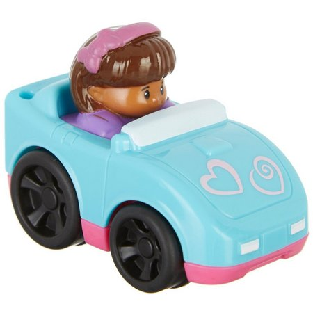 Fisher-Price Little People Wheelies Hearts Car