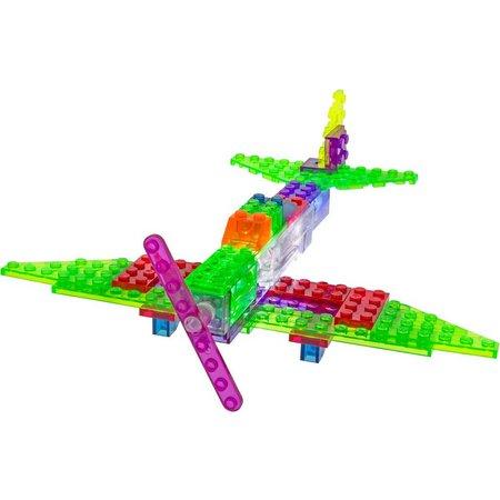 Laser Pegs 6-in-1 Zippy Do Mustang Plane Set