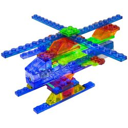 Laser Pegs 4-in-1 Helicopter Model Kit