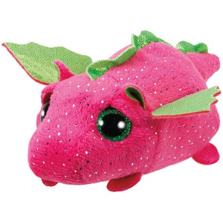 TY Teeny Tys Darby the Pink Dragon