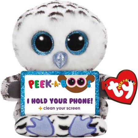 TY Peek-A-Boos Phone Holder Omar the Owl