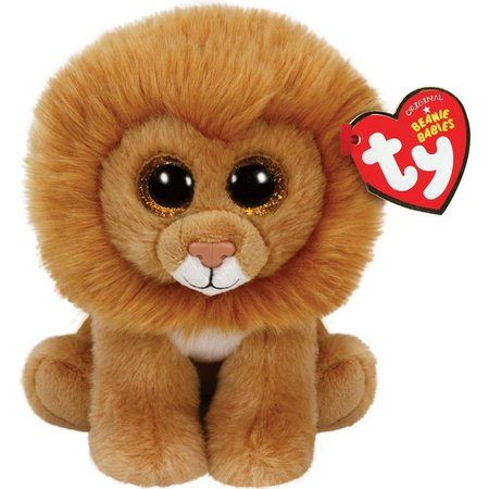 TY Beanie Babies Louie The Lion