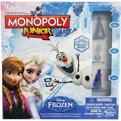 Disney Frozen Monopoly Junior Game