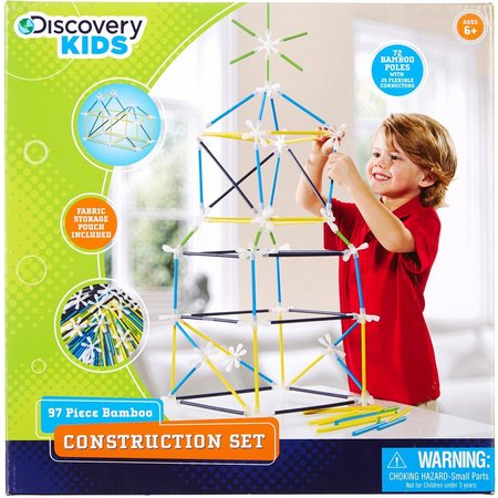 Discovery Kids 97-pc. Bamboo Construction Set