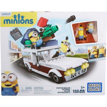 MEGA BLOKS Minions Station Wagon Getaway Set