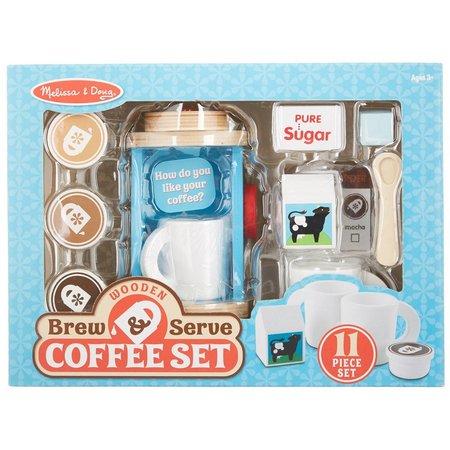 Melissa & Doug Wooden Brew & Serve Coffee