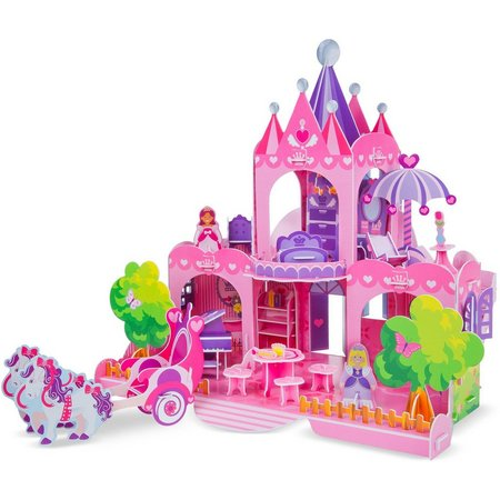 Melissa & Doug Pink Palace 3D Puzzle and