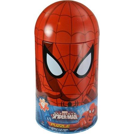 Marvel Spider-Man 48-pc. Large Capsule Tin Puzzle