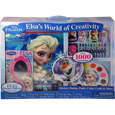 Disney Frozen Elsa's World of Creativity Art Set