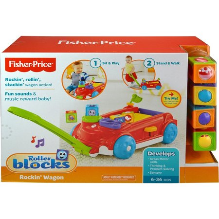 Fisher-Price Roller Blocks Rockin' Wagon