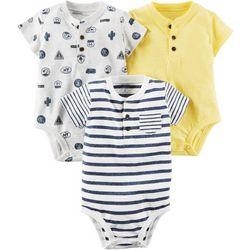 Carters Baby Boys 3-pk. Henley Bodysuits