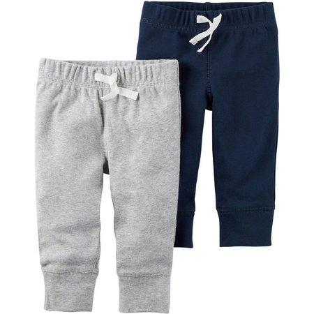 Carters Baby Boys 2-pk. Little Monster Pants Set
