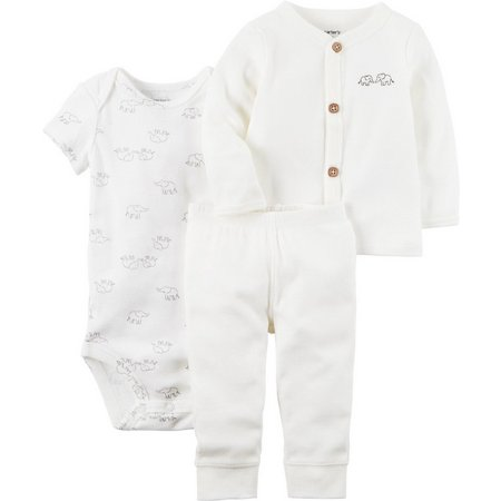 Carters Baby Girls 3-pc. Little Peanut Layette Set